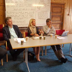 Informasjonsmøte av Høyre politikere